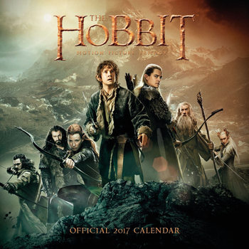 The Hobbit Kalendarz 2017