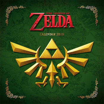 The Legend Of Zelda Kalendarz 2019