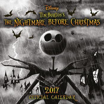 The Nightmare Before Christmas Kalendarz 2017