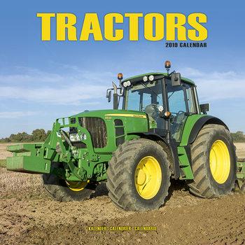 Tractors Kalendarz 2021