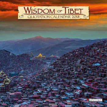 Wisdom of Tibet Kalendarz 2018
