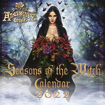 Alchemy - Seasons of the Witch - Square Kalendarz 2022