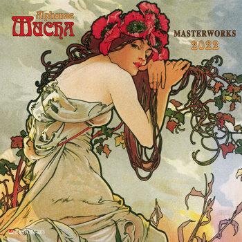 Alphonse Mucha - Poster Art Kalendarz 2022