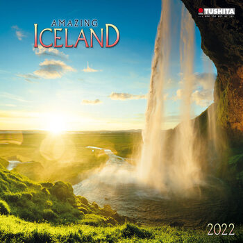 Amazing Iceland Kalendarz 2022