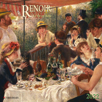 Auguste Renoir - La Vie en Rose Kalendarz 2022