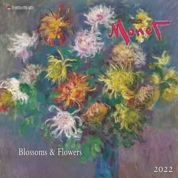 Claude Monet - Blossoms & Flowers Kalendarz 2022