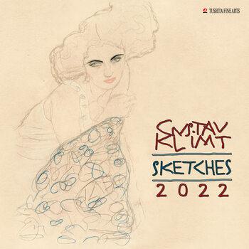 Gustav Klimt - Sketches Kalendarz 2022