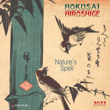Hokusai/Hiroshige - Nature's Spell Kalendarz 2022