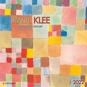 Paul Klee - Rectangular Colours Kalendarz 2022