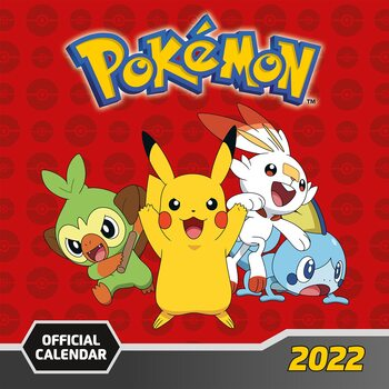 Pokemon Kalendarz 2022