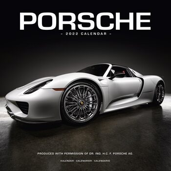 Porsche Kalendarz 2022
