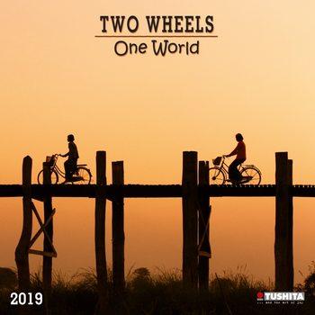 TWO wheels - ONE world Kalendarz 2022