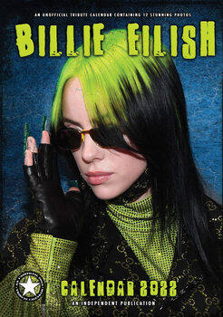 Kalender 2022 - Billie Eilish