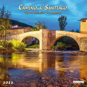 Kalender 2022 Camino de Santiago