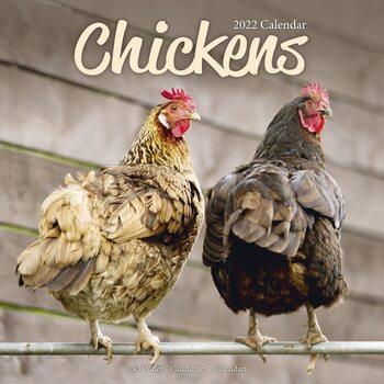 Kalender 2022 Chickens