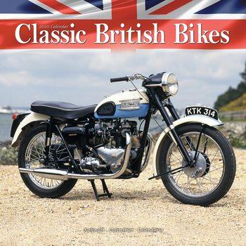Kalender 2021- Classic British Bikes