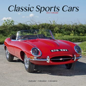 Kalender 2022 Classic Sports Cars