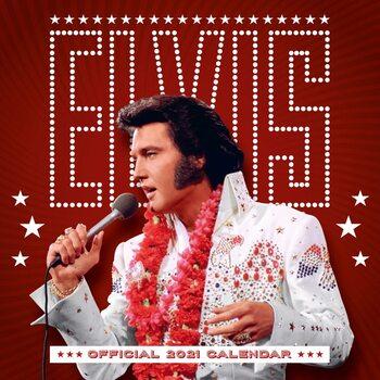 Kalender 2021- Elvis Presley
