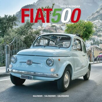 Kalender 2022 Fiat 500 - Wall Cal
