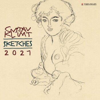 Kalender 2021 Gustav Klimt - Sketches