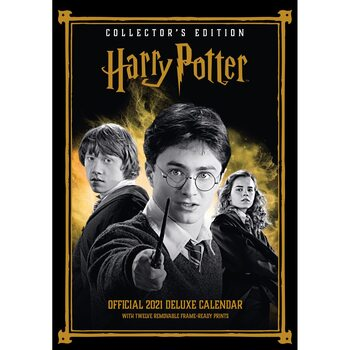 Kalender 2021 Harry Potter - Deluxe
