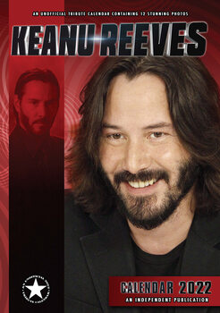 Kalender 2022 - Keanu Reeves