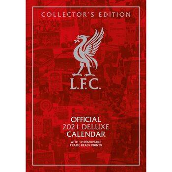 Kalender 2021 Liverpool - Deluxe