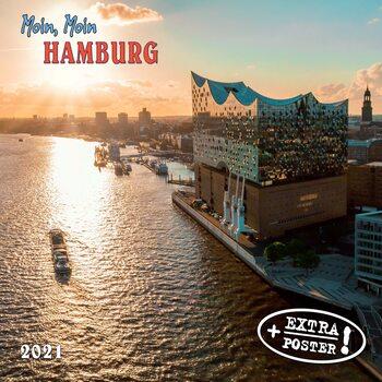 Kalender 2021 Moin, Moin Hamburg