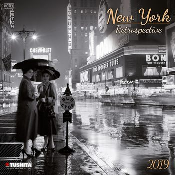Kalender 2021 New York Retrospective
