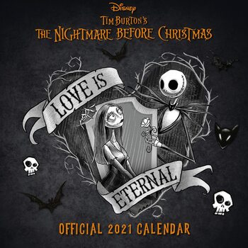 Kalender 2021 Nightmare Before Christmas