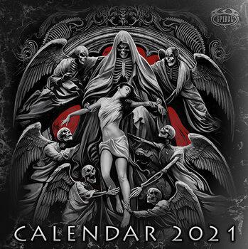 Kalender 2021 Spiral - Gothic