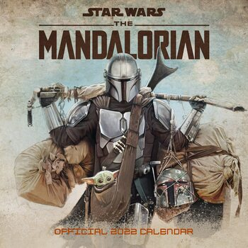 Kalender 2022 Star Wars: The Mandalorian