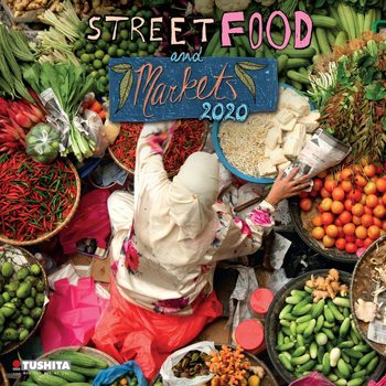 Kalender 2021 Street Food