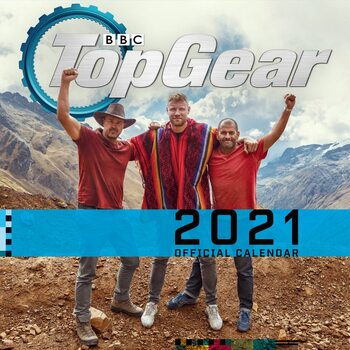 Kalender 2021- Top Gear