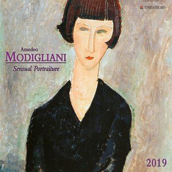 Kalender 2019  A. Modigliani - Sensual Portraits