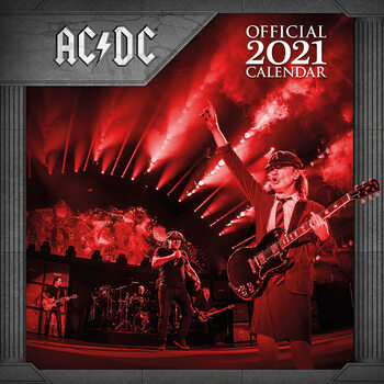 Kalender 2021- AC/DC