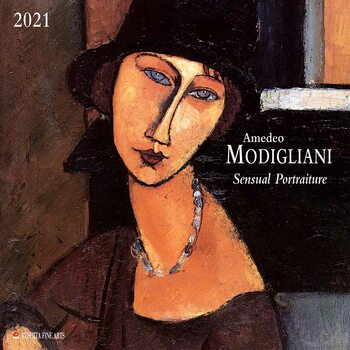 Kalender 2021- Amedeo Modigliani - Sensual Portraits