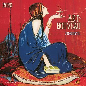 Kalender 2020-  Art Nouveau