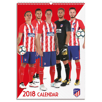 Athletico Madrid Kalender 2018