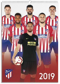 Kalender 2019  Atletico Madrid