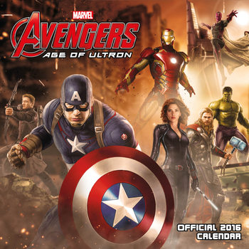 Avengers: Age Of Ultron Kalender 2021