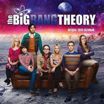 Kalender 2019 -  Big Bang Theory
