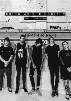 Kalender 2018 - Bring Me The Horizon