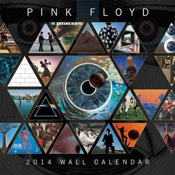 Kalender 2021 Calendar 2014 - PINK FLOYD