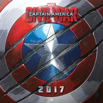 Kalender 2017 Captain America: Civil War