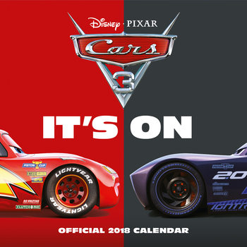 Kalender 2018 Cars 3: Evolution
