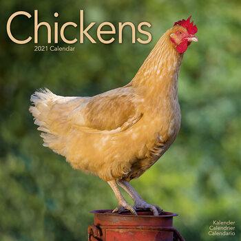 Kalender 2021- Chickens