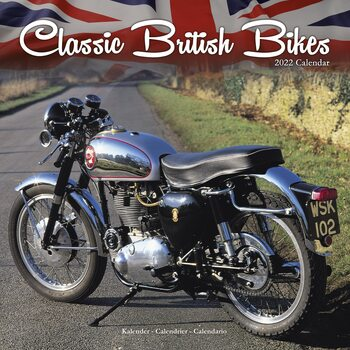 Kalender 2022 Classic British Bikes