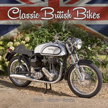 Classic British Bikes Kalender 2021