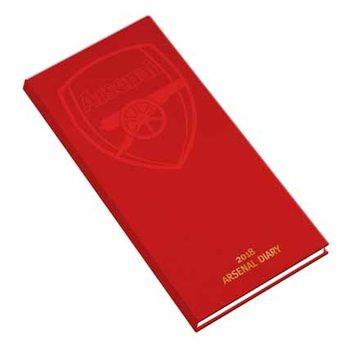 Kalender 2018 - Diary Official 2018 - Arsenal